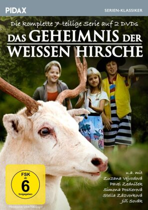 Das Geheimnis der weissen Hirsche - Die komplette 7-teilige Serie (Pidax Serien-Klassiker, 2 DVDs)