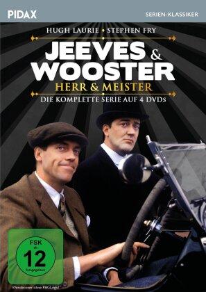 Jeeves & Wooster - Herr & Meister - Die komplette Serie (Pidax Serien-Klassiker, 4 DVDs)