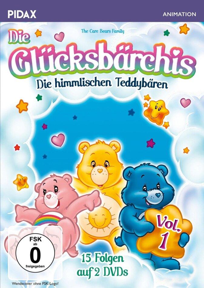 Die Glücksbärchis - Vol. 1 (Pidax Animation, 2 DVDs)