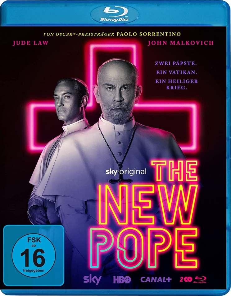 The New Pope - TV Mini Series (2 Blu-rays)
