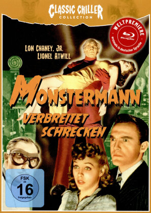 Monstermann verbreitet Schrecken (1941) (Classic Chiller Collection, s/w, Limited Edition)