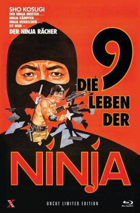 Die 9 Leben der Ninja (1985) (Grosse Hartbox, Limited Edition, Uncut)