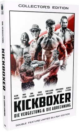 Kickboxer - Die Vergeltung & Die Abrechnung (Cover A, Grosse Hartbox, Double Feature, Limited Collector's Edition, 2 Blu-rays)