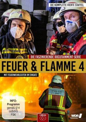 Feuer und Flamme - Mit Feuerwehrmännern im Einsatz - Staffel 4 (2 DVDs)