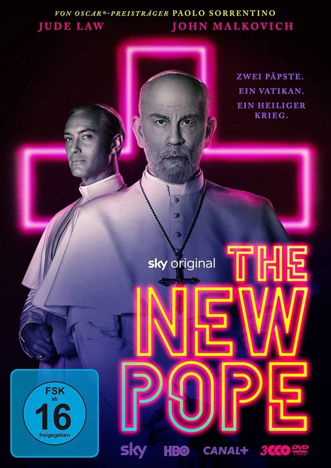 The New Pope - TV Mini Series (3 DVDs)