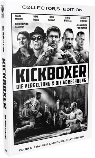 Kickboxer - Die Vergeltung & Die Abrechnung (Grosse Hartbox, Cover B, Double Feature, Limited Collector's Edition, 2 Blu-rays)