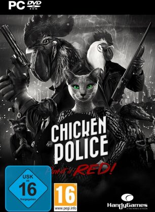 Chicken Police - Paint it RED!