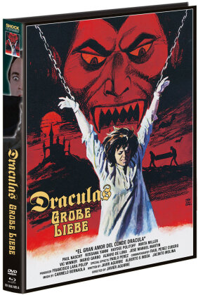 Draculas grosse Liebe (1973) (Cover A, Limited Edition, Mediabook, Blu-ray + DVD)
