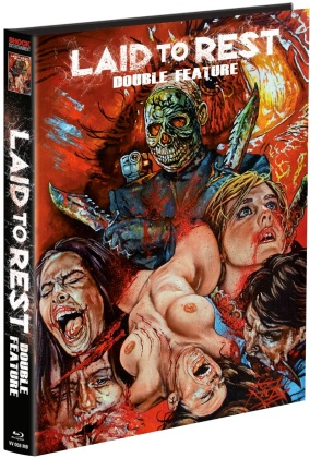 Laid to Rest / Chromeskull - Laid to Rest 2 - Double Feature (Wattiert, Limited Edition, Mediabook, 2 Blu-rays)