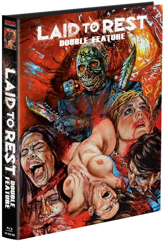 Laid to Rest / Chromeskull - Laid to Rest 2 - Double Feature (Wattiert, Collector's Edition, Edizione Limitata, Mediabook, Uncut, 2 Blu-ray)