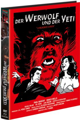Der Werwolf und der Yeti (1975) (Cover B, Limited Edition, Mediabook, Blu-ray + DVD)
