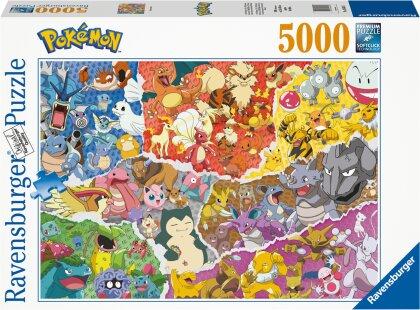 Ravensburger Puzzle 16845 – Pokémon Allstars – 5000 Teile Puzzle für Erwachsene und Kinder ab 14 Jahren