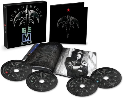 Queensryche - Empire (2021 Reissue, Boxset, Capitol Records, 3 CDs + DVD)