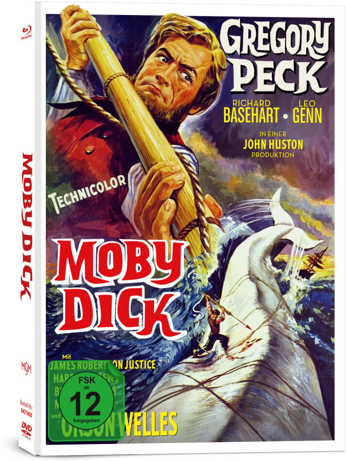 Moby Dick (1956) (Limited Collector's Edition, Mediabook, 2 Blu-rays + DVD)