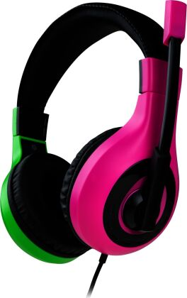 Stereo Gaming Headset V1 - pink/green [NSW]