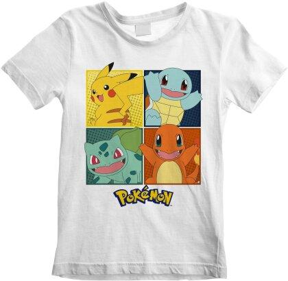 T-shirt - Pokemon - Squares - Enfant - 9 - 11 ans