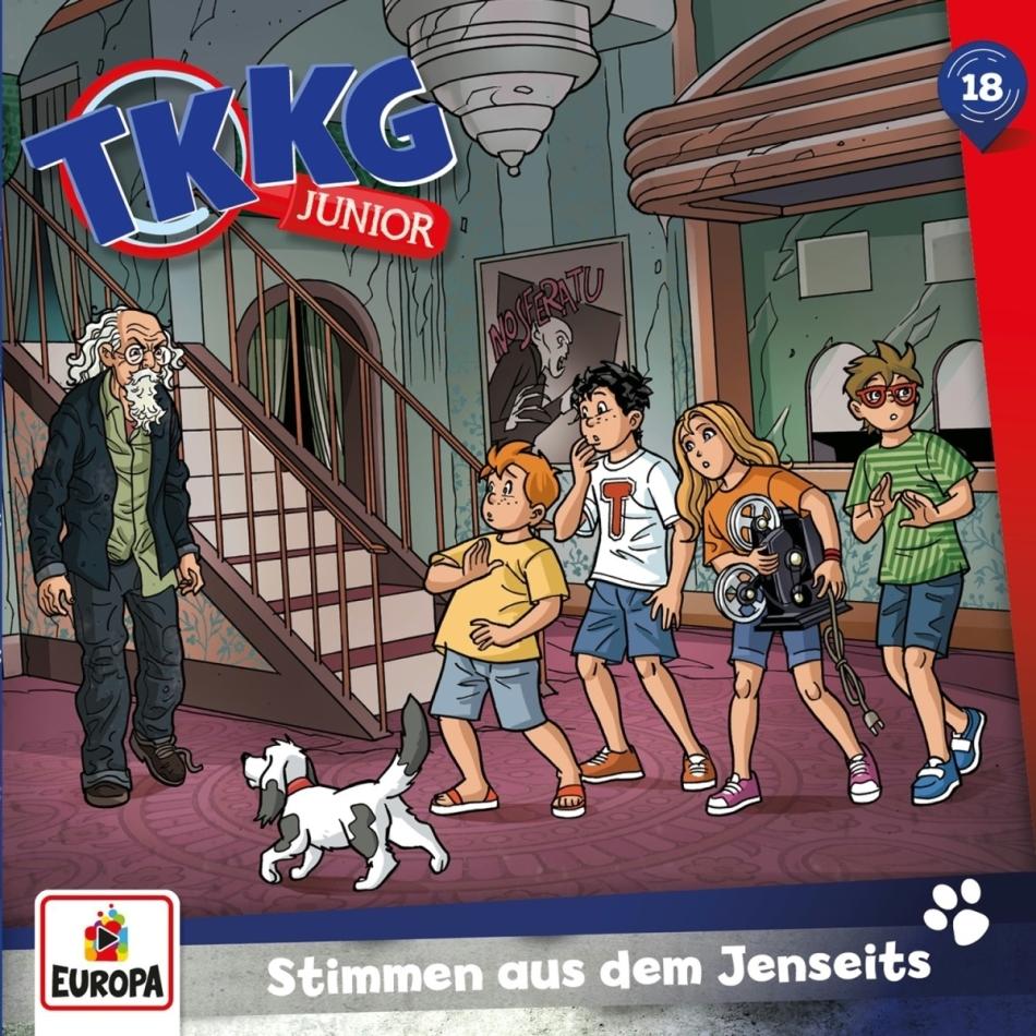 TKKG Junior - 018/Stimmen aus dem Jenseits