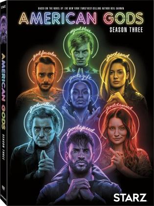 American Gods - Season 3 (3 DVDs)