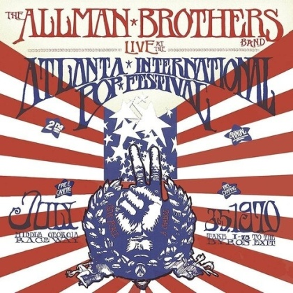 The Allman Brothers Band - Live At The Atlanta International Pop Festival (2 CDs)