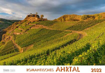 Romantisches Ahrtal 2022 Bildkalender A4 quer - spiralgebunden