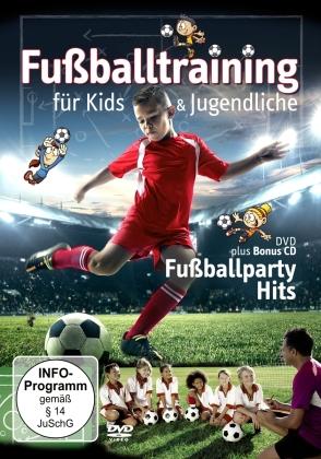 Training-Fussballparty Hits - Fußballtraining für Kids & Jugendliche (DVD + CD)