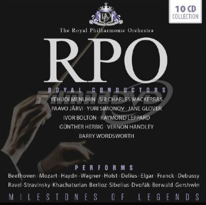 Royal Philharmonic Orchestra - Royal Conductors - Milestones Of Legends (10 CDs)