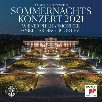 Daniel Harding, Igor Levit & Wiener Philharmoniker - Sommernachtskonzert 2021 / Summer Night Concert 2021