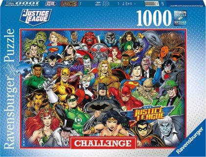Ravensburger Puzzle 16884 – DC Comics Challenge – 1000 Teile Puzzle für Erwachsene und Kinder ab 14 Jahren