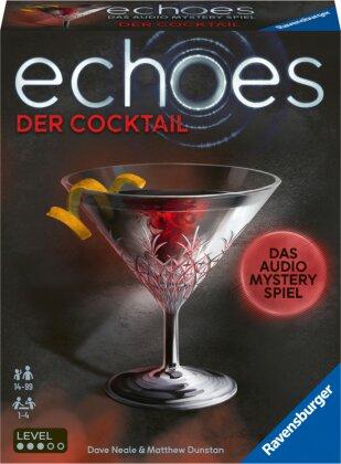 Ravensburger 20814 echoes Der Cocktail - Audio Mystery Spiel ab 14 Jahren, Erlebnis-Spiel