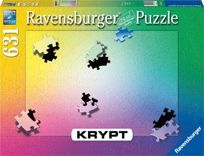 Ravensburger Krypt Puzzle 16885 - Krypt Gradient - 631 Teile Puzzle für Erwachsene und Kinder ab 14 Jahren