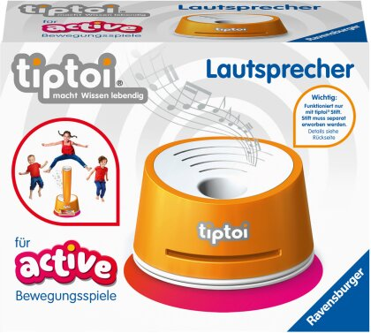 Ravensburger tiptoi 00093 - Lautsprecher für ACTIVE Bewegungsspiele