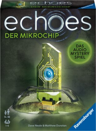 Ravensburger 20816 echoes Der Mikrochip - Audio Mystery Spiel ab 14 Jahren, Erlebnis-Spiel