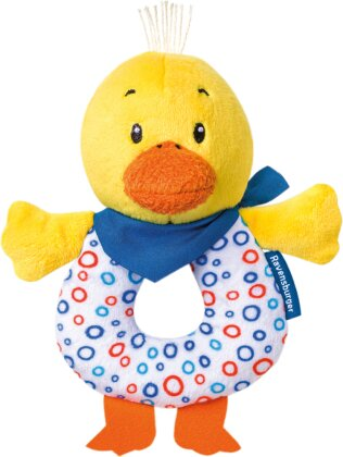 Ravensburger ministeps 4190 Entchen-Greifling, Babyrassel und Greifling - Baby Spielzeug ab 3 Monate