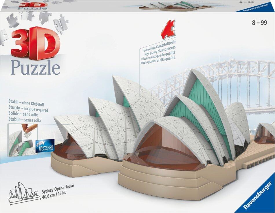 Sydney Opera House - 216 Teile 3D Puzzle