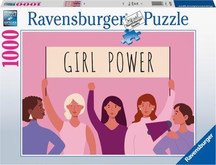 Ravensburger Puzzle 16730 - Girl Power - 1000 Teile Puzzle für Erwachsene und Kinder ab 14 Jahren