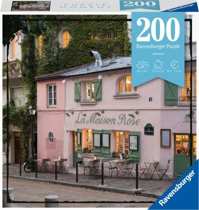 Ravensburger Puzzle Moment 13271 - Paris - 200 Teile Puzzle für Erwachsene und Kinder ab 14 Jahren