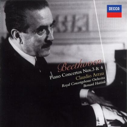 Ludwig van Beethoven (1770-1827), Bernard Haitink, Claudio Arrau & Royal Concertgebouw Orchestra - Piano Concertos Nos. 3 & 4 (Japan Edition)