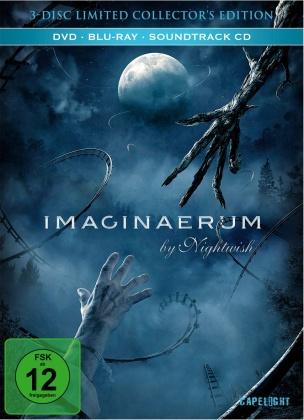 Imaginaerum by Nightwish (2012) (Limited Collector's Edition, Mediabook, Blu-ray + DVD + CD)