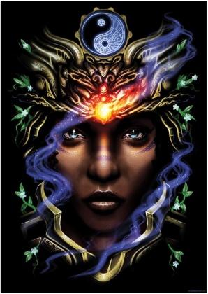 Ethereal Goddess I - Mini Poster