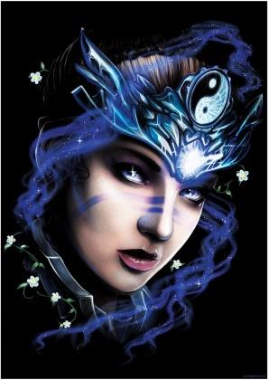Ethereal Goddess II - Mini Poster