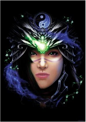 Ethereal Goddess III - Mini Poster