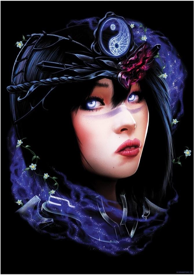 Ethereal Goddess IV - Mini Poster