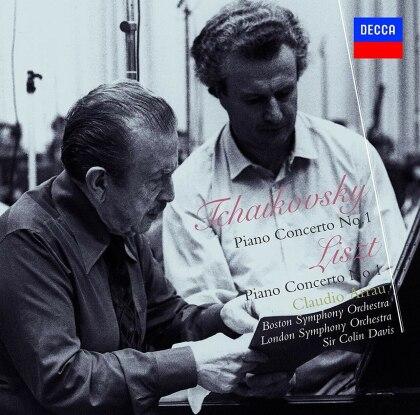 Claudio Arrau, Peter Iljitsch Tschaikowsky (1840-1893), Franz Liszt (1811-1886), Sir Colin Davis, Boston Symhony Orchestra, … - Piano Concerto No.1 / Liszt: Piano Concerto (Japan Edition)