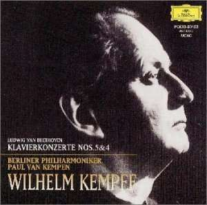 Ludwig van Beethoven (1770-1827), Paul van Kempen, Wilhelm Kempff & Berliner Philharmoniker - Klavierkonzerte Nos. 5 & 4 (Japan Edition)