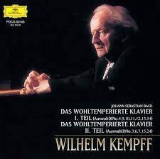 Johann Sebastian Bach (1685-1750) & Wilhelm Kempff - Das Wohltemperierte Klavier 2 (Japan Edition)