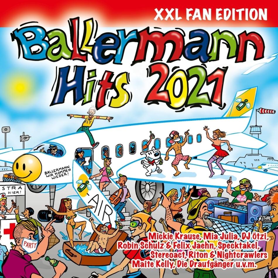Ballermann Hits 2021 (XXL Fan Edition, 3 CDs)