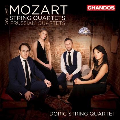 Doric String Quartet & Wolfgang Amadeus Mozart (1756-1791) - String Quartets, Vol. 1 (2 CDs)