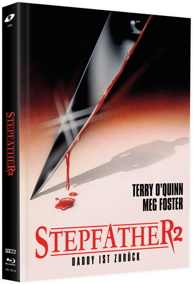 Stepfather 2 (1989) (Cover A, Limited Edition, Mediabook, Blu-ray + 2 DVDs)