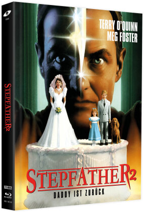 Stepfather 2 (1989) (Cover B, Limited Edition, Mediabook, Blu-ray + 2 DVDs)