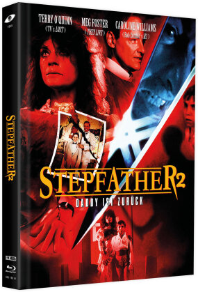 Stepfather 2 (1989) (Cover C, Limited Edition, Mediabook, Blu-ray + 2 DVDs)